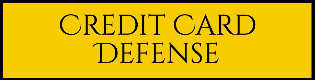 Credit Card Lawsuit Defense