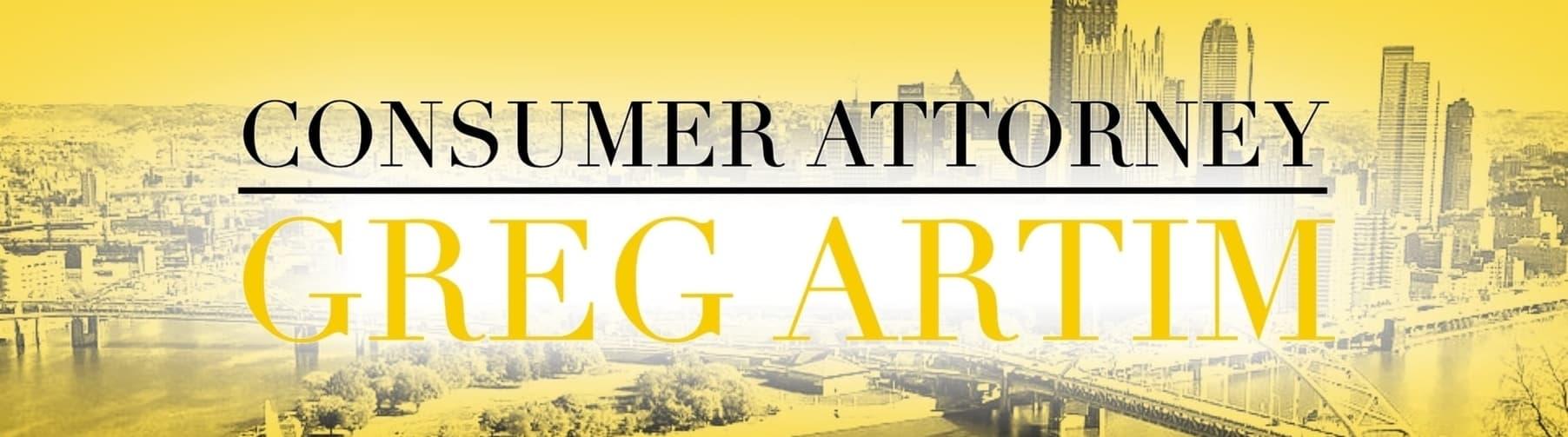 Consumer Attorney Greg Artim